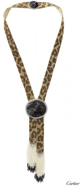 Collier pan lyrique Cartier